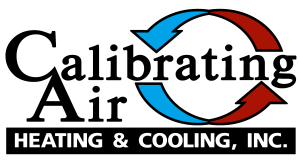 Calibrating Air Heating & Cooling Logo - Heating and Air Conditioning Contractor