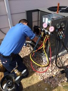 Service technician working on an Air Conditioning Condenser - air conditioner is not working properly FAQs